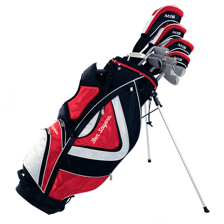 Набор клюшек (Ben Sayers) M15 Pkg Set Red (Stand Bag) Gr/St MRH G4982