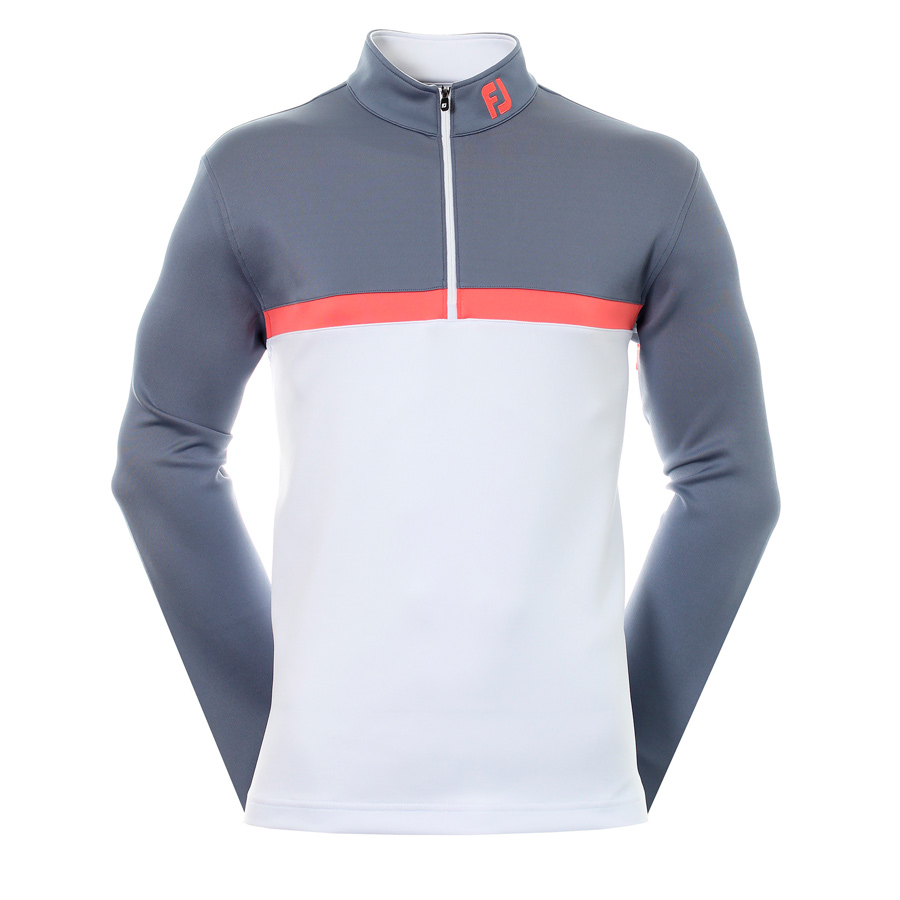 Толстовка FJ Colour Blocked Chill-Out Pullover Slate/White/Coral